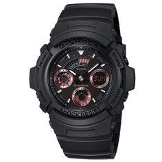 CASIO+G-Shock+AW-591ML-1A+Orologio+Analogico-Digitale+Red+Eye G Shock Watches Mens, G Shock Men, Big Watches, Best Watches For Men, Cool Watches, Casio G-shock, Casio Watch, New Digital Camera, World Timer