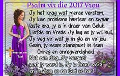 Afrikaanse Quotes, Daily Thoughts, Psalms, Faith, Christian, Handmade, Hand Made, Craft, Believe
