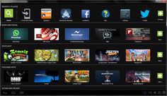 BlueStacks program-player is a bit limited Android emulator for Windows. Not fully functional emulator, and the player application. Android Smartphone, Android Apps, Mac Os Mavericks, Online Pc Games, Microsoft Software, Dragon City, Computer Internet, Mac Pc, New Gadgets