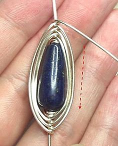 Herringbone Wire Wrapping Tutorial