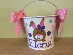 Hey, I found this really awesome Etsy listing at https://www.etsy.com/listing/183048607/personalized-metal-easter-bucket-5-quart