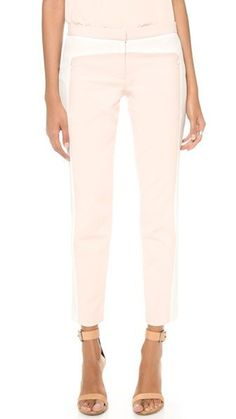 Tibi Color Block Pants, $298