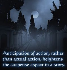 Tip to help you start writing a suspense story