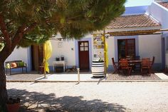 Monte da Casteleja Turismo Rural, Algarve. Monte da Casteleja set in the midst of our organic vineyard http://www.organicholidays.co.uk/at/3091.htm