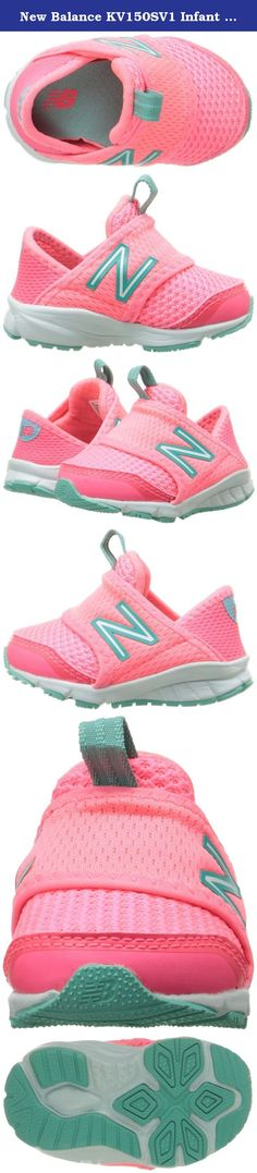 New Balance KV150SV1 Infant Running Shoe (Infant/Toddler), Pink/Green, 3 W US Infant. Seasons change but effortless style does not. With the ease of a slip-on silhouette, the 150s is an easy-going shoe that's constructed with an inner bootie, so you can go from the track, to the streets with ease.