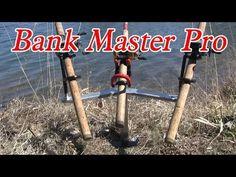 """Bank fishing rod holder: """"The Bank Master Pro"""" - YouTube"""