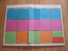 Ιστορίες από την τάξη: Βιβλίο πλάνων διδασκαλίας τάξης...με post-it!