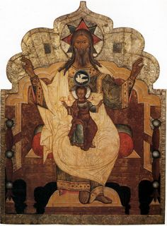 Троица Новозаветная (Отечество) XVII