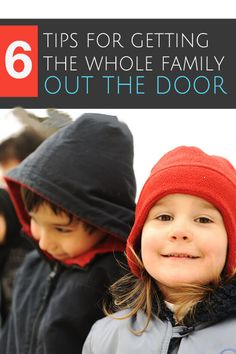 Six Tips for Getting the Whole Family Out the Door! Kids Activities and Crafts,#crafting,#kids,#activities