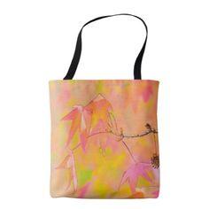 Fall Leaves Art tote bag - accessories accessory gift idea stylish unique custom