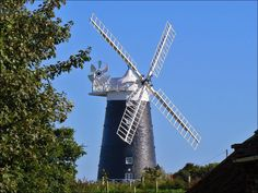 On the road south out of Mundesley, you will find Stow Mill; which was built as a flour mill in around 1826 by James Gaze. The mill was operational until 1930, when it was turned into a small home. In 1960 it was selected for preservation by Norfolk County Council and since then it has been maintained and restored by private owners with the help of donations and admission charges. Today, this wonderful mill is open to visitors most days, and there is an adjacent small shop.