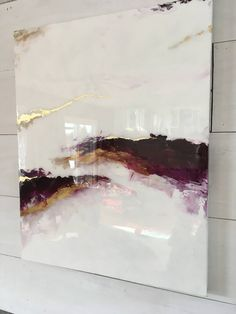 SOLD Beautiful shiny purple marble abstract statement art resin high gloss painting with gold . - SOLD Beautiful shiny purple marble abstract statement art resin high gloss painting with gold leaf - Marble Painting, Marble Art, Acrylic Painting Canvas, Acrylic Art, Abstract Canvas, Painting Abstract, Acrylic Resin, Artist Painting, Diy Painting