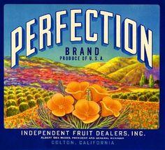 Dice Orange Citrus Fruit Crate Label Print Lindsay Black and White Co
