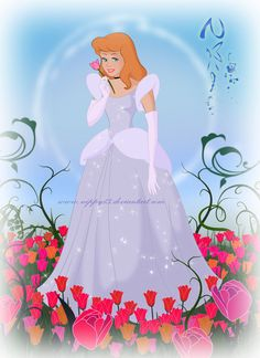 Commission for Cinderella with her hair down in a garden of tulips I love drawing Cindy and i thank you Joe for commissioning me Hope you all like it! Cinderella In The Garden Cinderella Disney, Disney Dream, Disney Magic, Official Disney Princesses, Disney Princesses And Princes, Disney Couture, Fairytale Art, Fairy Godmother, Love Drawings