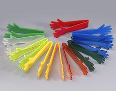pinzas manos metacrilato colores