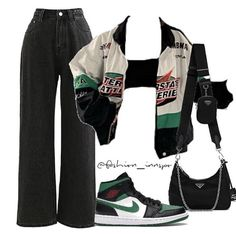 Style Outfits, Edgy Outfits, Teen Fashion Outfits, Retro Outfits, Cute Casual Outfits, Tomboy Fashion, Streetwear Fashion, Mode Logos, Jugend Mode Outfits