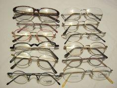 Restposten: 12 Brillenfassungen verschiedener Hersteller. Posten Nummer 4