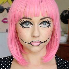 12+ Halloween Doll Makeup Styles, Looks, Trends & Ideas 2015 ...