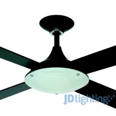 White 3 year warranty martec lifestyle 1300mm 52 ceiling fan no 199 jd lighting glass bottom white also was 500 looks like a good motor aloadofball Images