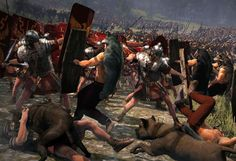 battle of teutoburg forest | -War-Rome-II-Gets-History-Filled-The-Battle-of-the-Teutoburg-Forest ...