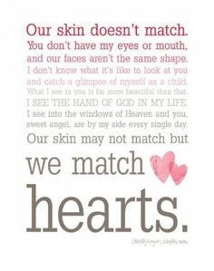 Items similar to We Match Hearts - Pink Ombre Typography Wall Art - Adoption Quote on Etsy We Match Hearts - Ombre Typography Wall Art - This just made my heart smile. If I ever adopt a kid, this is going in there room :) Daughter Quotes, Mother Quotes, Mom Quotes, To My Daughter, Daughters, Wisdom Quotes, Auntie Quotes, Sister Poems, Sister Quotes