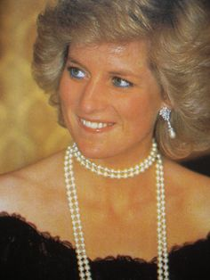 November 6, 1987: Princess Diana in Hamburg, West Germany.