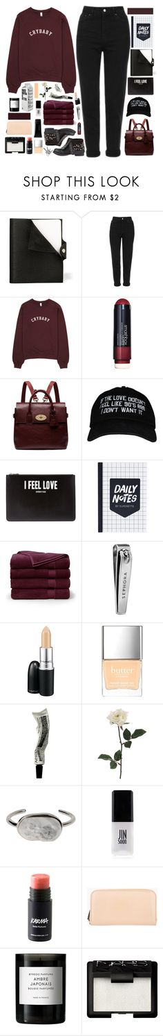 """☾ i gave you something, but you gave me nothing"" by thundxrstorms ❤ liked on Polyvore featuring Hermès, Topshop, Smashbox, Mulberry, Givenchy, Brooks Brothers, Sephora Collection, MAC Cosmetics, Butter London and Aesop"