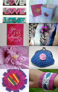 The Colors of Love by Stephanie on Etsy--Pinned with TreasuryPin.com