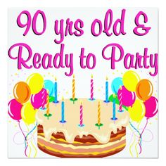 90th Birthday Party Planning IdeasLife After 60 Best Gifts Cool