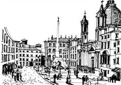 Plaza Navona-Roma
