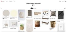 Learn the easiest way to create a mood board for interior design, using something you likely already have - a Pinterest account! #moodboard #designboard #interiordesign Interior Design Boards, Beautiful Interior Design, Beautiful Interiors, Boho Living Room, Lights Background, Modern Boho, Pinterest Account, Room Set, Own Home