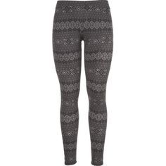 maurices Ultra Soft Legging In Black And Gray Pattern (€19) ❤ liked on Polyvore featuring pants, leggings, bottoms, black combo, mid rise pants, print pants, plus size patterned leggings, womens plus size leggings and womens plus pants