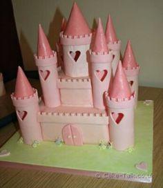 Princess Castle Cake Tutorial
