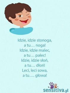 sensitiva.pl Polish Language, Baby Development, Fun Crafts For Kids, Raising Kids, Cool Baby Stuff, Kids Education, Little Babies, Kids And Parenting, Kids Learning