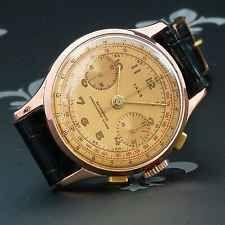 Professionally Restored IAXA Swiss Vintage Chronograph Watch Landeron Cal. 48