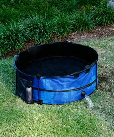 Cleaning Four Legged Friends Is A Breeze With This Portable Dog Bath.  Constructed From