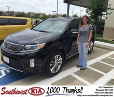 https://flic.kr/p/EVaMcY | #HappyBirthday to Amy from Clinton Miller at Southwest Kia Mesquite! | deliverymaxx.com/DealerReviews.aspx?DealerCode=VNDX