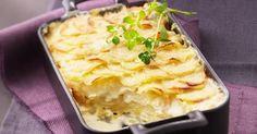 Recette de Gratin dauphinois au fromage frais et curry. Facile et rapide à réaliser, goûteuse et diététique. Ingrédients, préparation et recettes associées.