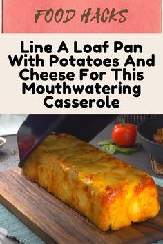 Vegetable Recipes, Beef Recipes, Recipies, Cooking Recipes, Healthy Recipes, Apple Crisp Recipes, Easy Casserole Recipes, Loaf Pan, Dinner Sides