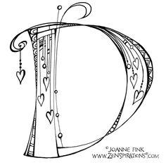 Monograms - Zenspirations Alphabet Letters Design, Typography Alphabet, Fancy Letters, Alphabet Art, Calligraphy Alphabet, Monogram Letters, Letters And Numbers, Letter Art, Graffiti Alphabet