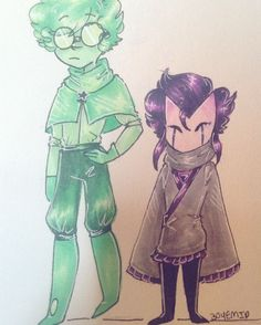 Ambly and Sid! Two buddies just explorin' the world. Rp?