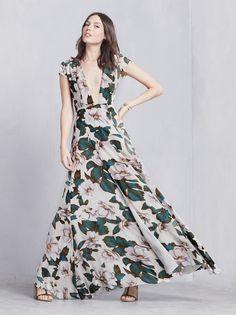 Lumen Dress in Colada :: THE REFORMATION