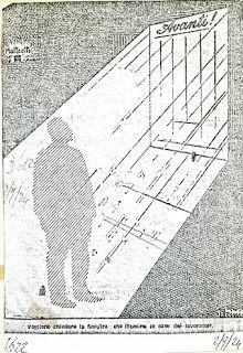 Vogliono chiudere la finestra che illumina le case dei lavoratori, Giuseppe Scalarini, Avanti! 2-9-1924