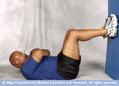 Photo of man doing abdominal crunch core-strength exercise Core Strength Exercises, Strength Workout, Core Workouts, Core Exercises, Abdominal Exercises, Abdominal Muscles, Hip Problems, Hip Workout, Core Muscles