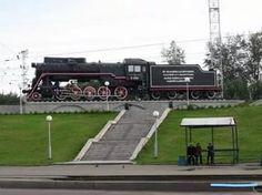 Бомжи раскочегарили паровоз в Новокузнецке / Funon.cc.