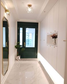 • THE_K 울산,현관인테리어 신발 수납장! 당신의 집 첫인상은? : 네이버 블로그 Interior Lighting, Room Interior, Interior Design, Bathroom Toilets, Entrance Doors, Door Design, Corner Bathtub, Foyer, Decoration