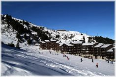 Méribel-Mottaret. Ski-in-out apartments - many many fun memories.