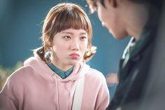 Weightlifting Fairy Kim Bok Joo Swag, Weighlifting Fairy Kim Bok Joo, Joon Hyung, Kim Book, Swag Couples, Lee Sung Kyung, Camisa Polo, Kdrama Actors, Cute Memes