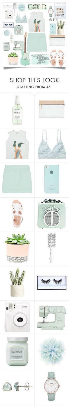 """""""Untitled #239"""" by tinatin97 ❤ liked on Polyvore featuring Herbivore, Victoria Beckham, Chicnova Fashion, Monki, T By Alexander Wang, Bare Escentuals, Hostess, Hershesons, Allstate Floral and Huda Beauty"""