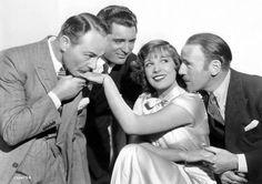 A Lili Damita le cuesta decidirse en This is the Night (1932), y eso que uno de los pretendientes es un jovencísimo Cary Grant.
